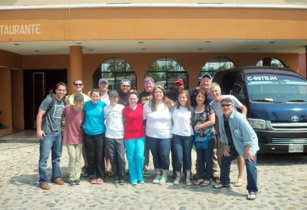 Equipo misionero en Guatemala 2015